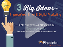big ideas for email marketing