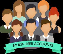 multi user accounts